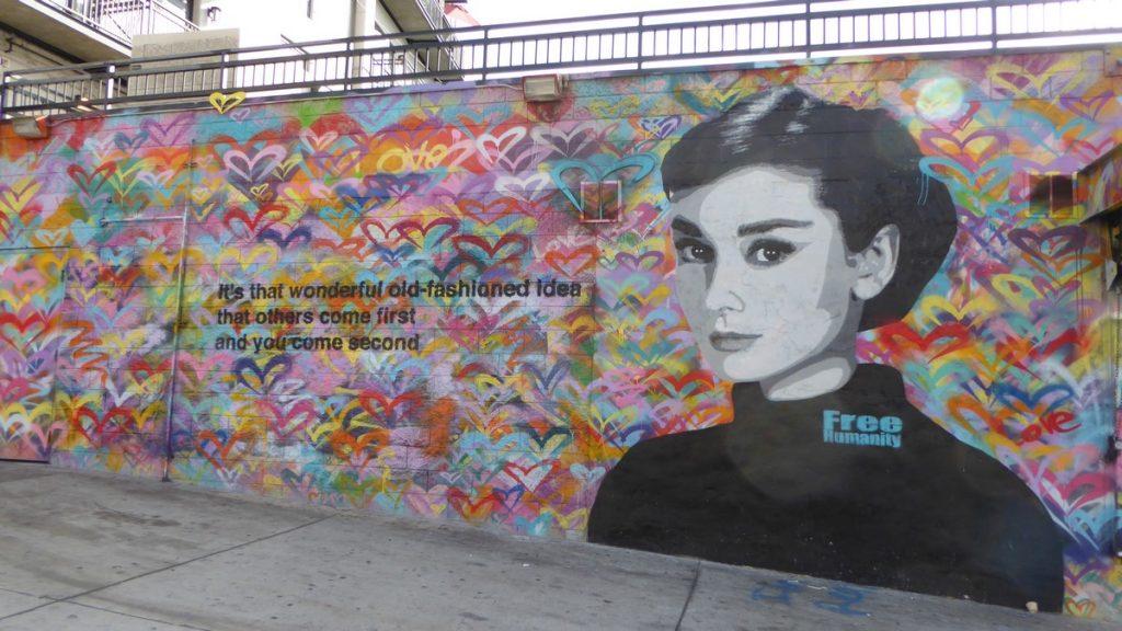 FREE HUMANITY - Winston st & Los Angeles st