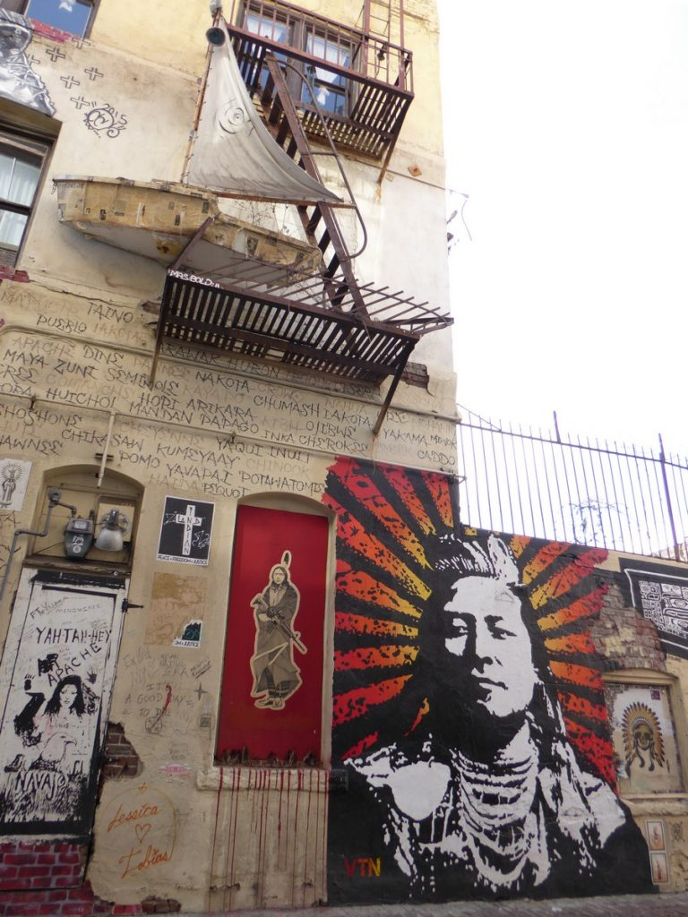 Indian alley, 118 Winston St