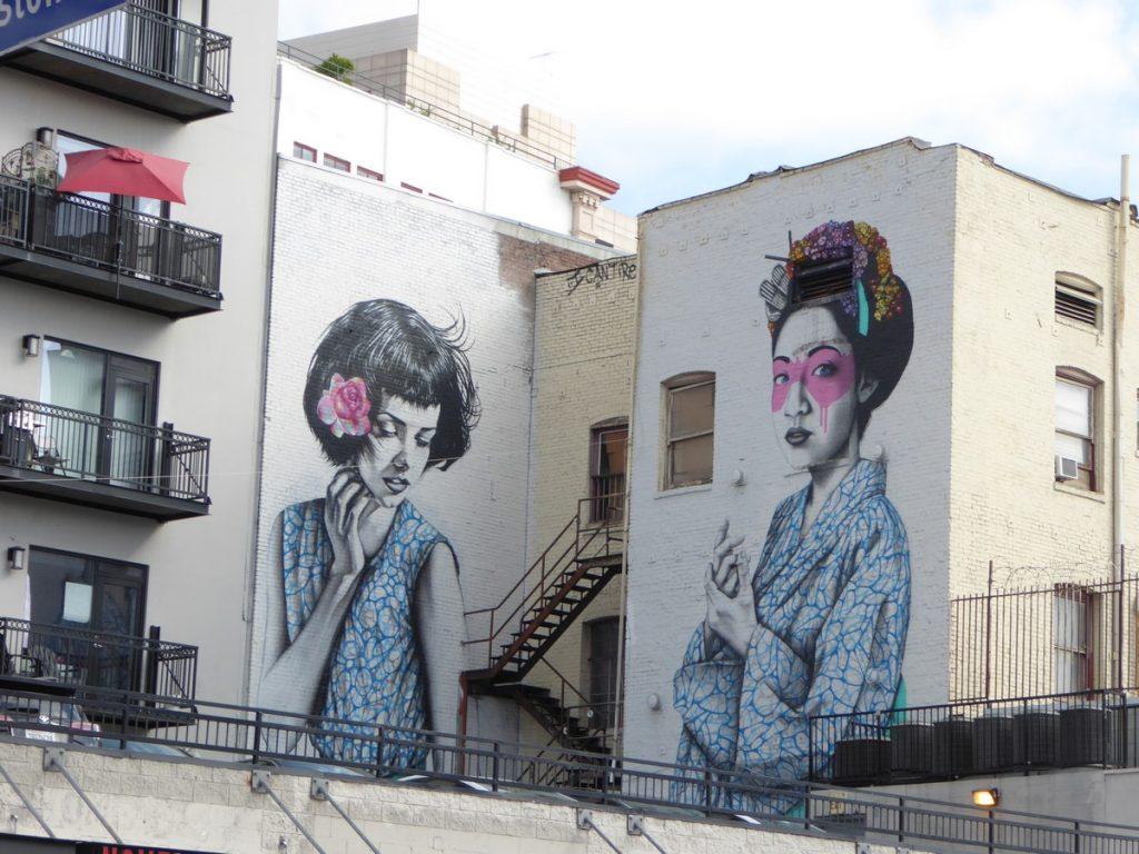 FINBARR DAC + CHRISTINA ANGELINA - Winston st & Los Angeles st