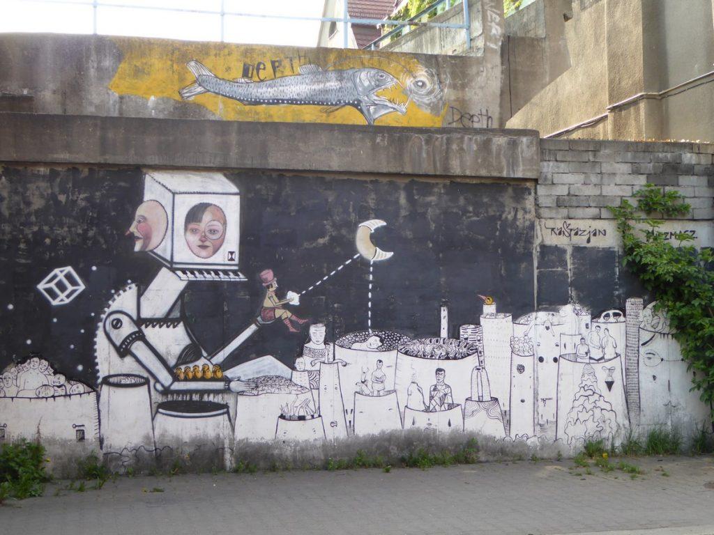 RASPAZJAN + MISZMASZ - Damrota (train bridge)