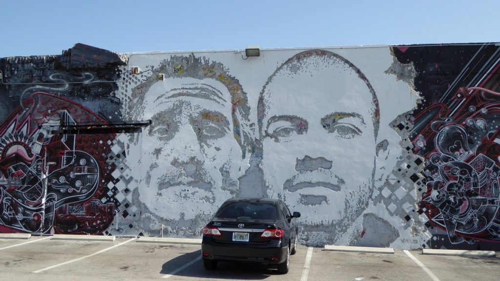 VHILS + NOW AND NOSM - NW 25th st / NW 2nd av / NW 5 av