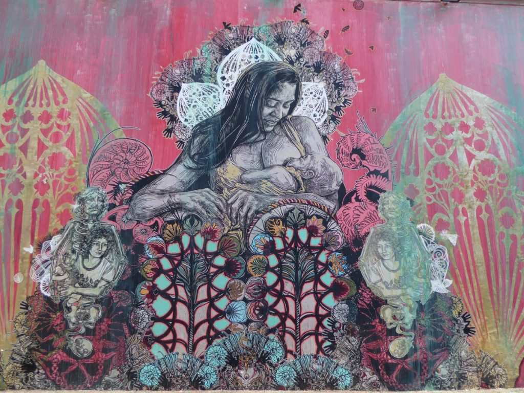 SWOON - Wynwood Walls - NW 26 st / NW 25 st / NW 2 av