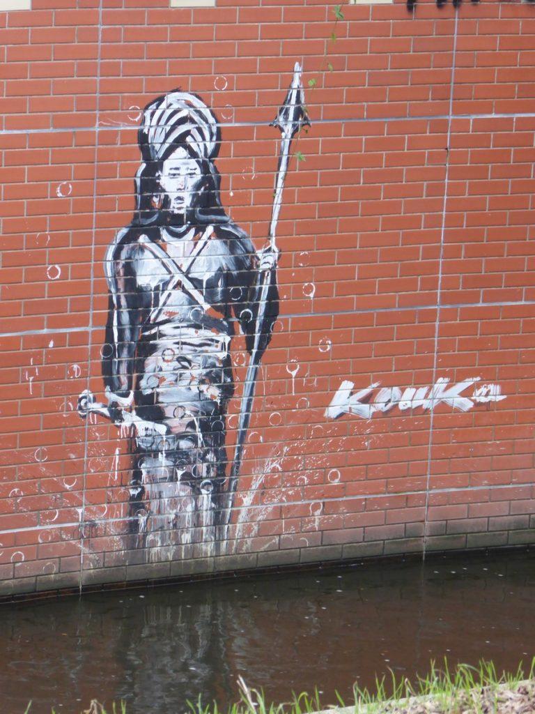 Les guerriers de KOUKA - bordures canal 17 Gerichtstraße