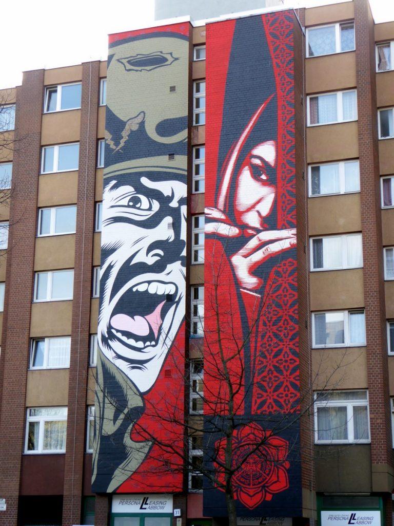 D*FACE + OBEY - Bülowstraße 31 ( face U-bahn Bullowstraße)