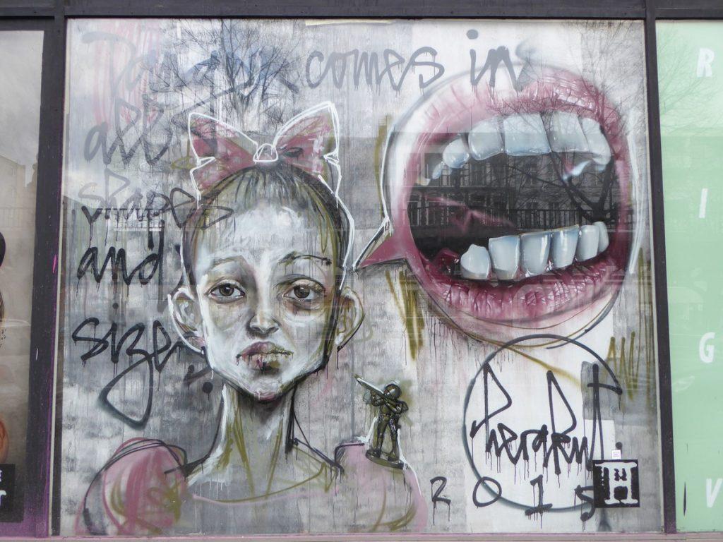 HERAKUT - Berlin - Bülowstraße 97