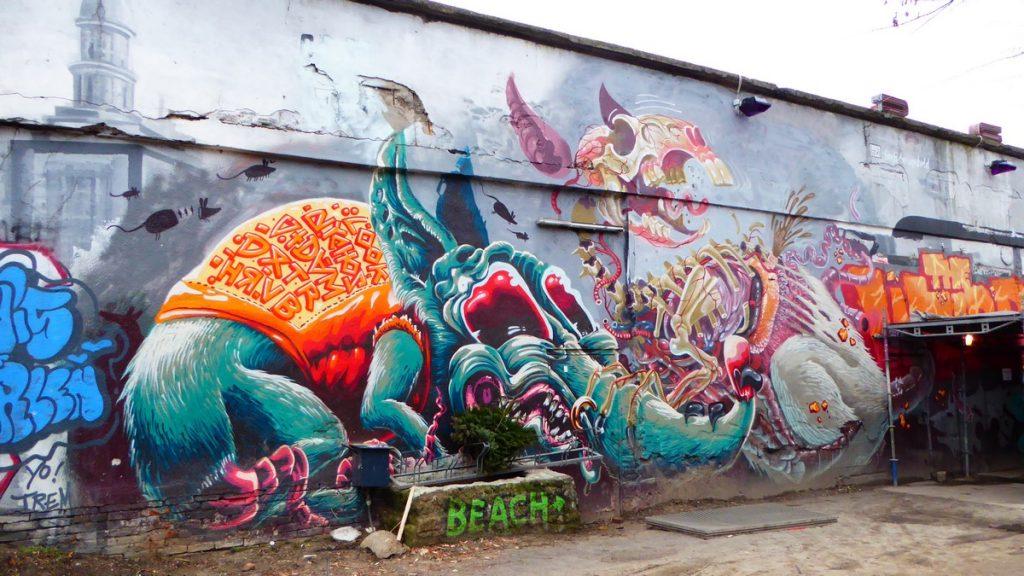 NYCHOS - Friche de Yaam - Stralauer Platz 35