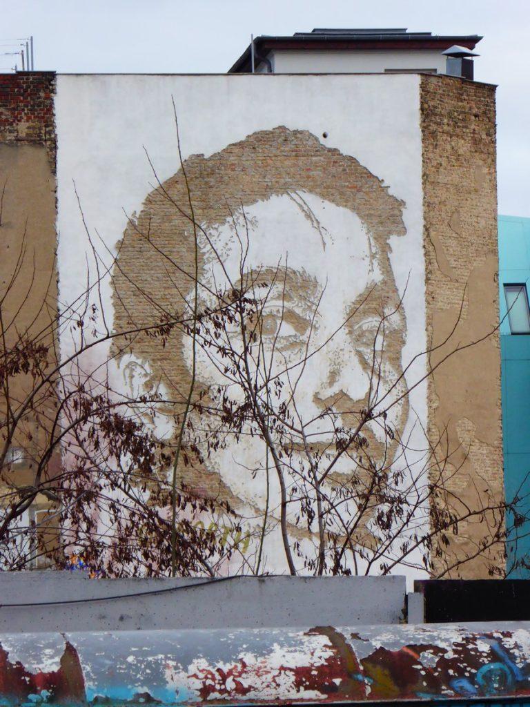 VHILS - Friche de Yaam - Stralauer Platz 35