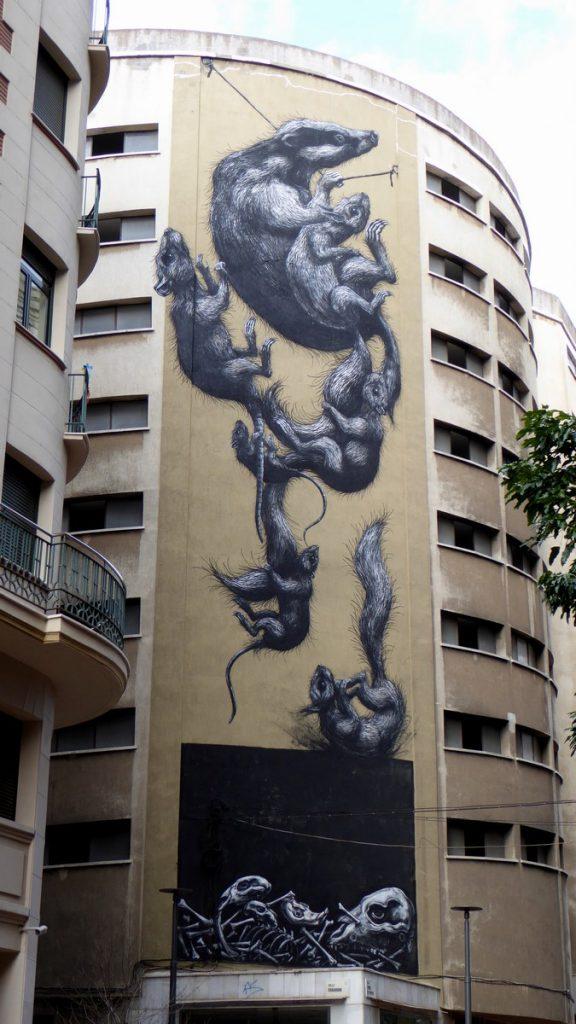 ROA - Calle Casa de Campos