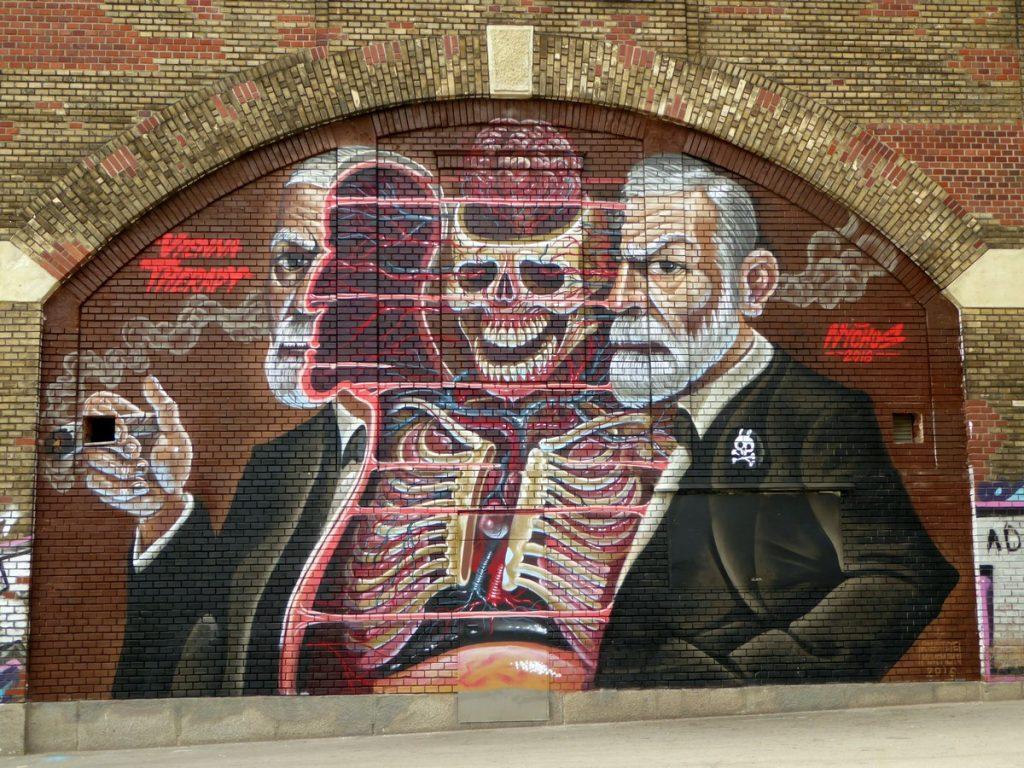 Freud par NYCHOS - Donaukanal Spitteleuer Kande 45