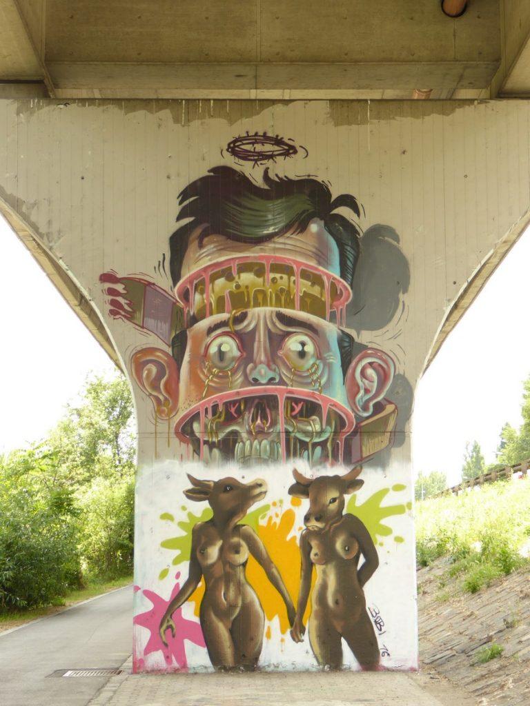 reste de NYCHOS - Donaukanal