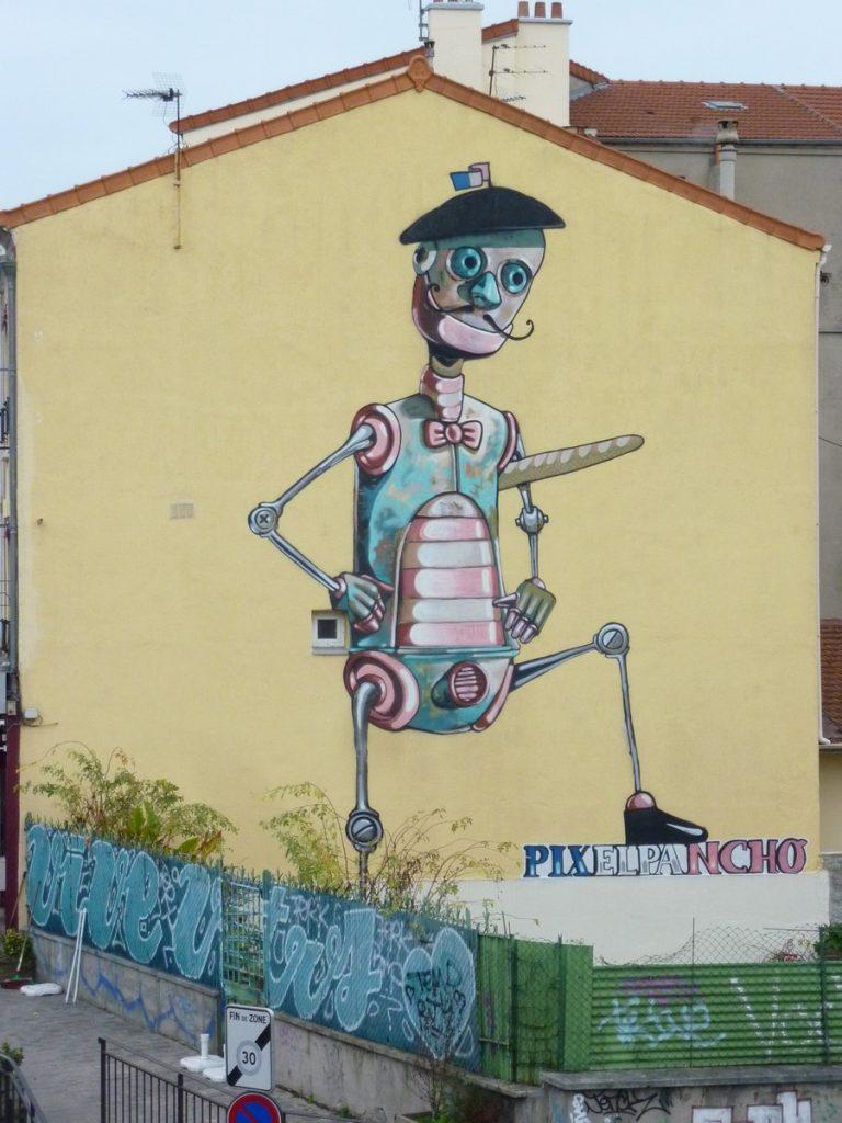 PIXEL PANCHO - 42 rue Pierre Semard