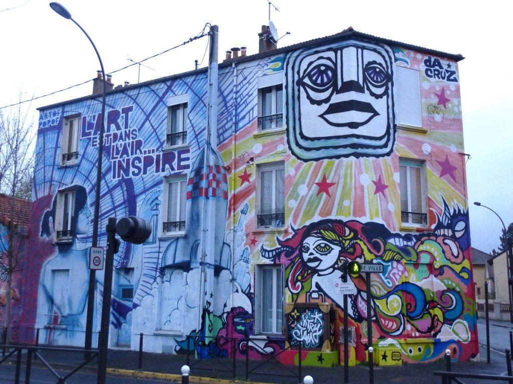 DA CRUZ + ARTOF POPOF - 2 avenue Guy Môquet (angle rue Camille Groult)