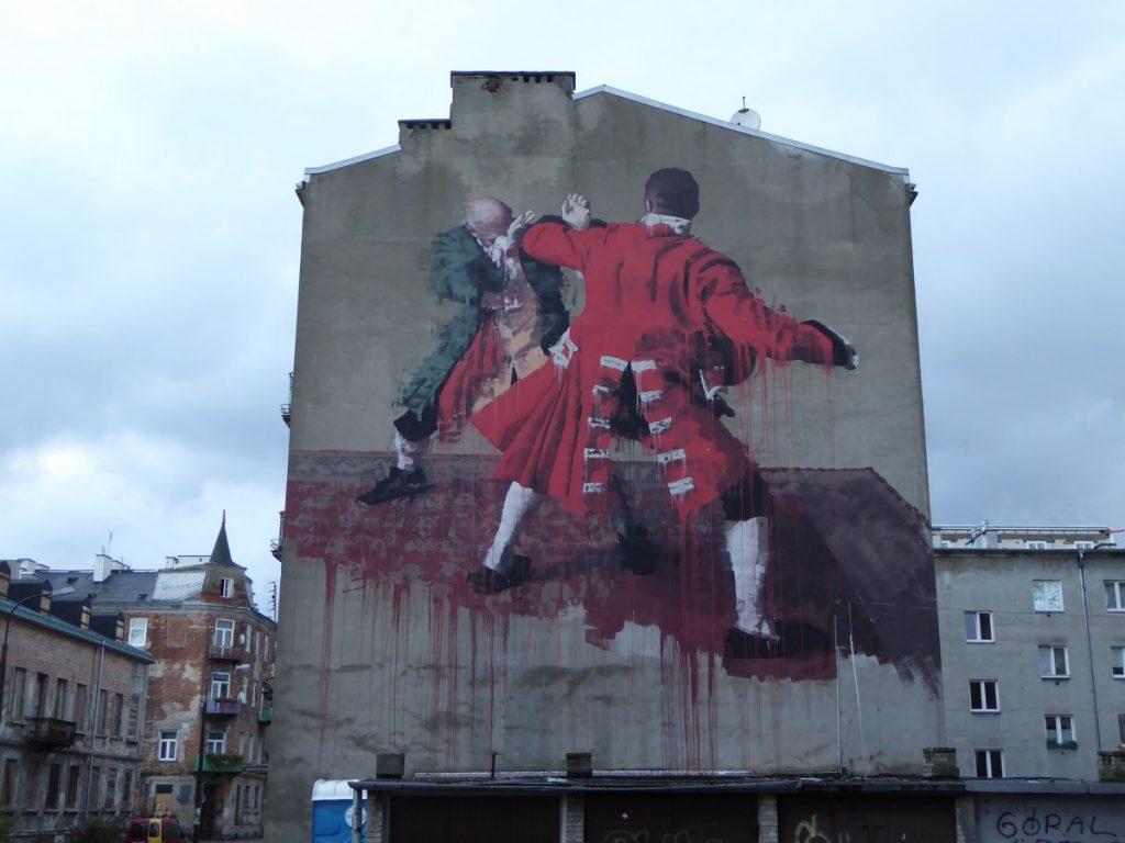 CONOR HARRINGTON - Warsaw - ul. Srodkowa 17