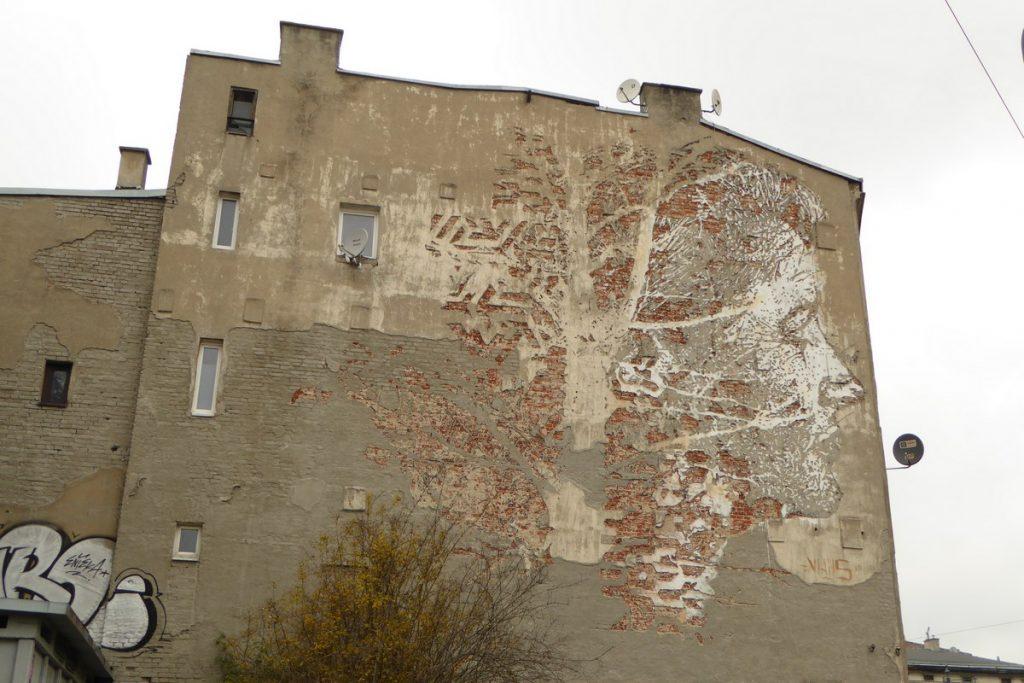 VHILS - Lodz - ul. Kopernika 28