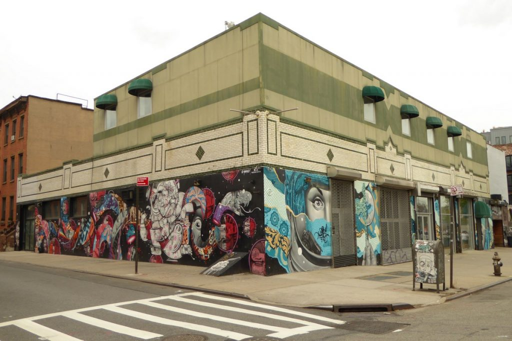 TRISTAN EATON + HOW AND NOSM - New York - Filmore Pl & Roebling st