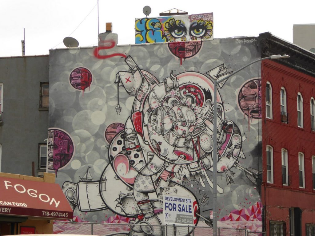 HOW AND NOSM - New York - Flushing av & Knickerbocker av