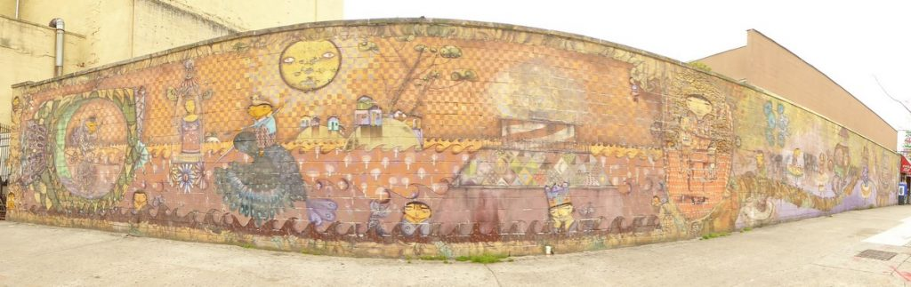 OS GEMEOS - New York Coney Island - Stillwell av & Mermaid av