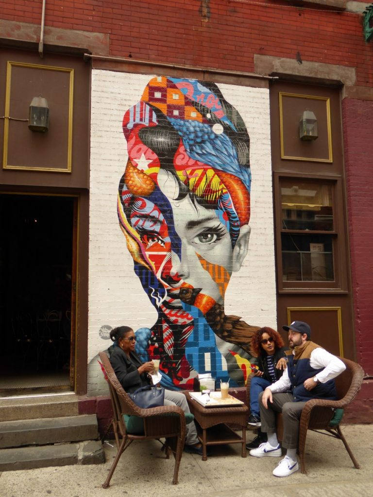 TRISTAN EATON - New York - Mulberry st & Broome st