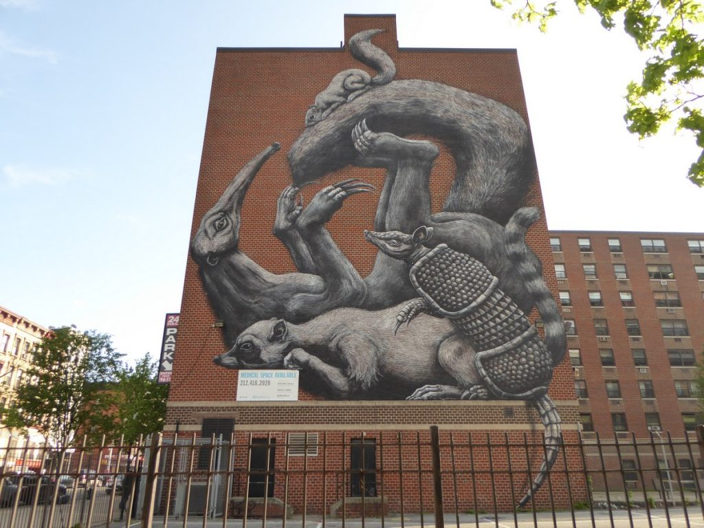 ROA - New York - Lexington av & E 108 st
