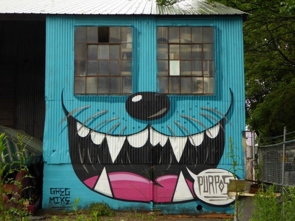 GREG MIKE - Atlanta - Dekalb av NE & Krog st SE