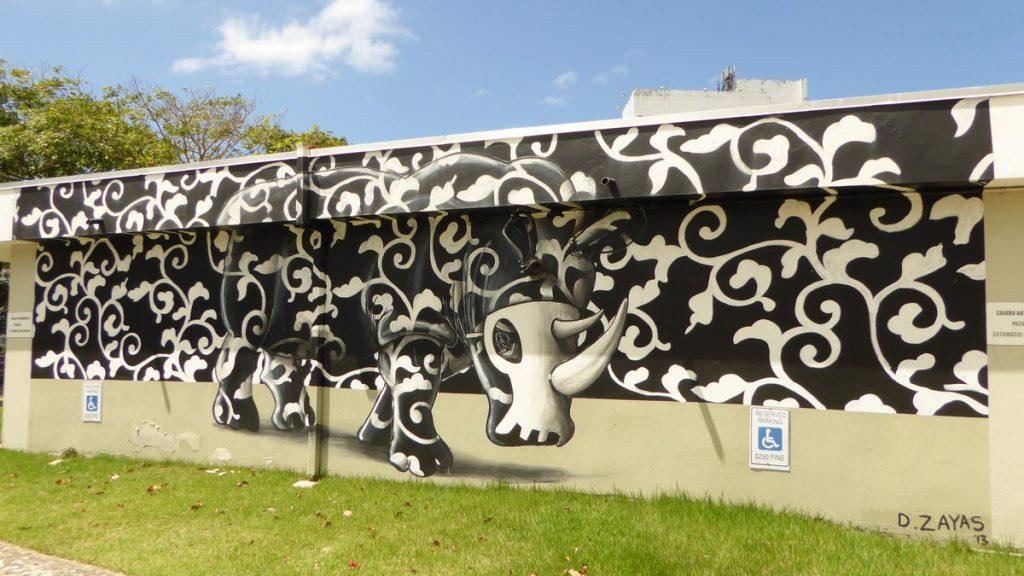 ZAYAS - San Juan Puerto Rico - Jardin Museo de arte de Puerto Rico, 299 Av. de Diego Puerto Nuevo