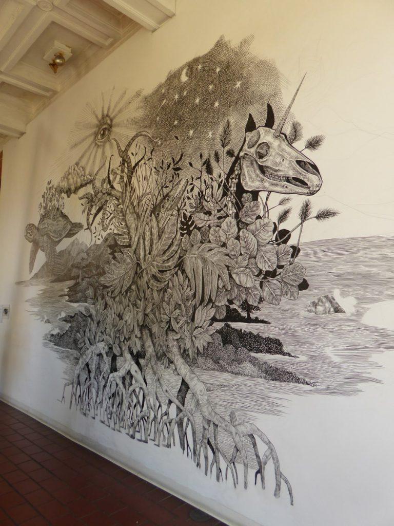 ALEXIS DIAZ - San Juan Puerto Rico - Intérieur Museo de arte Contemporaneo, av. Juan de Ponce de Leon & av. Roberto H Todd