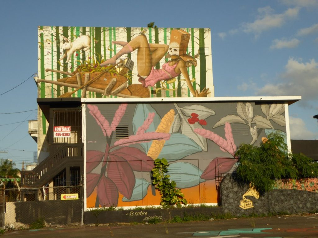 PASTEL - San Juan Puerto Rico - cal Cerra & cal Elisa Cerra
