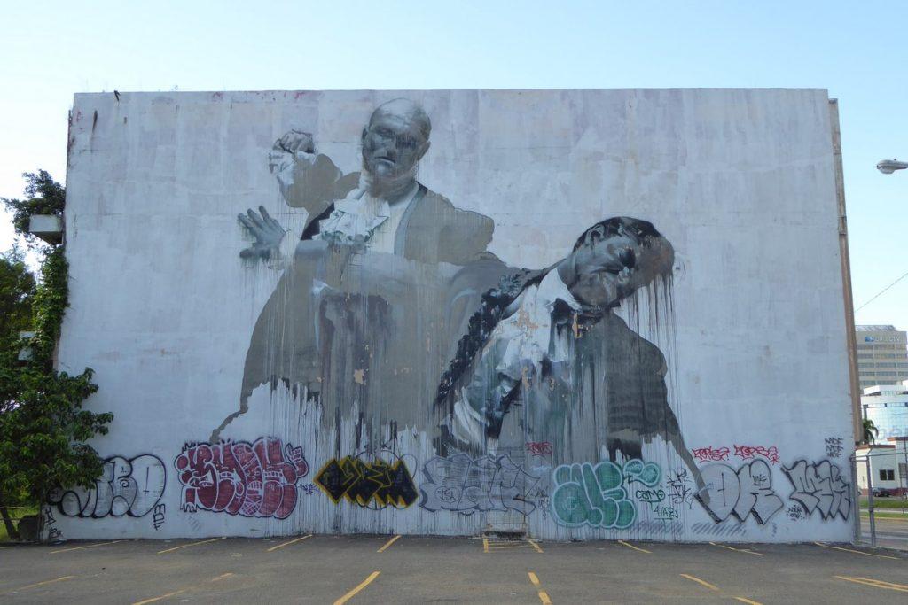 CONOR HARRINGTON - San Juan Puerto Rico - av Luis Munos Rivera & av Eleanor Roosevelt