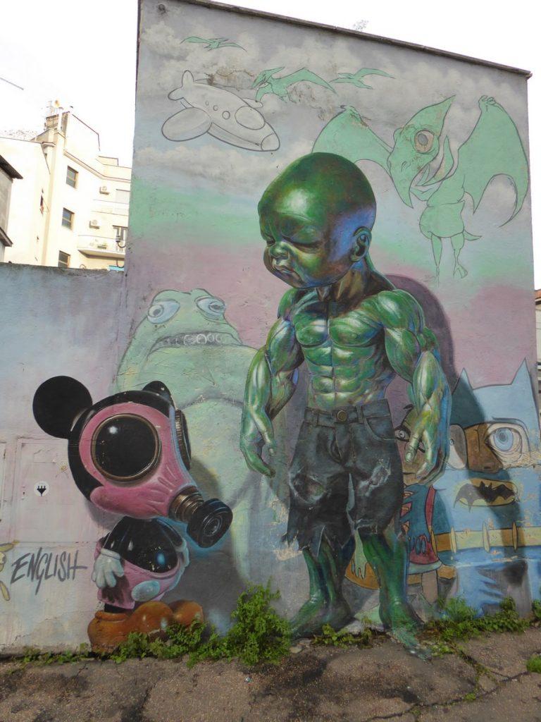 RON ENGLISH - Rome - Via dei Pisoni 89