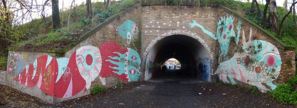 GIO PISTONE - Rome - Tunnel del Quadraro