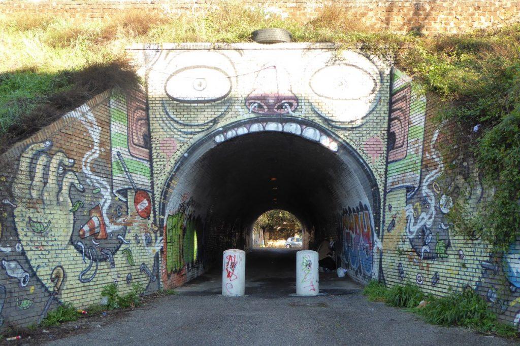 MR THOMS - Rome - Tunnel del Quadraro