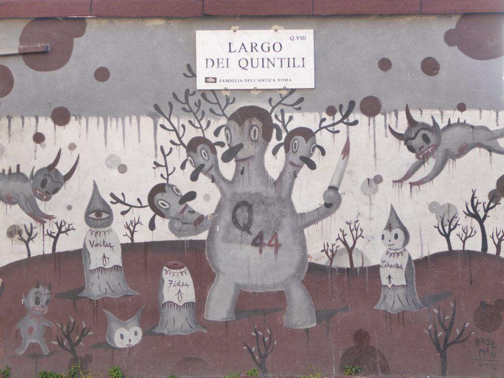 BASEMAN - Rome - Largo dei Quintili