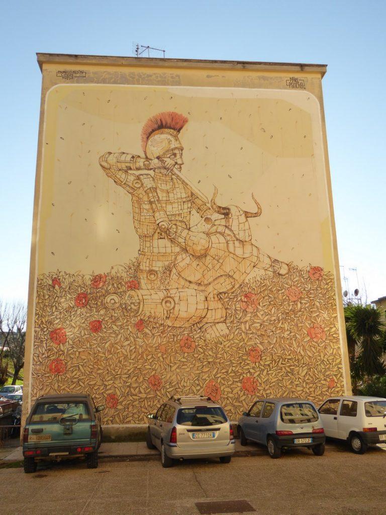 PIXEL PANCHO - Rome - Primavalle (perpendiculaire à via Petro Bembo 35)