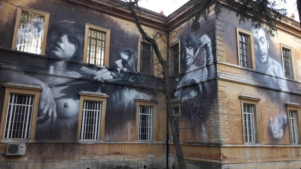GOMEZ - Rome - Museo Laboratorio della mento - Santa Maria della Pietà hospital complex - Piazza S. Maria della Pietà