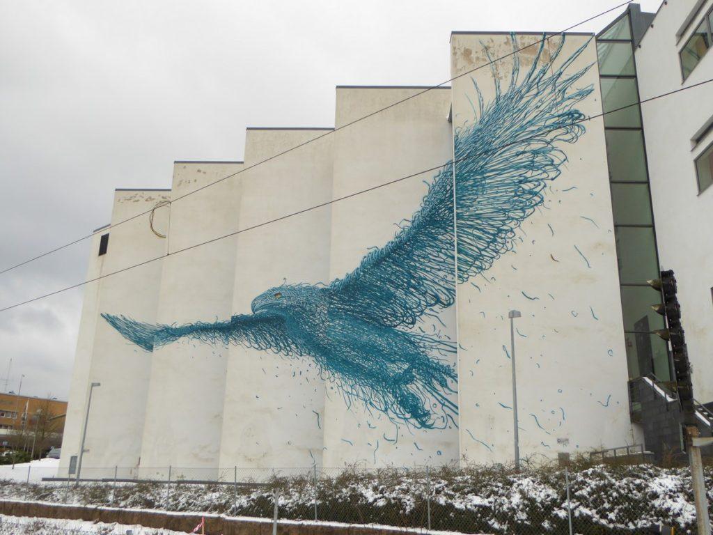 DAL EAST - Boras - Skaraborgsvägen - Högskolebiblioteket