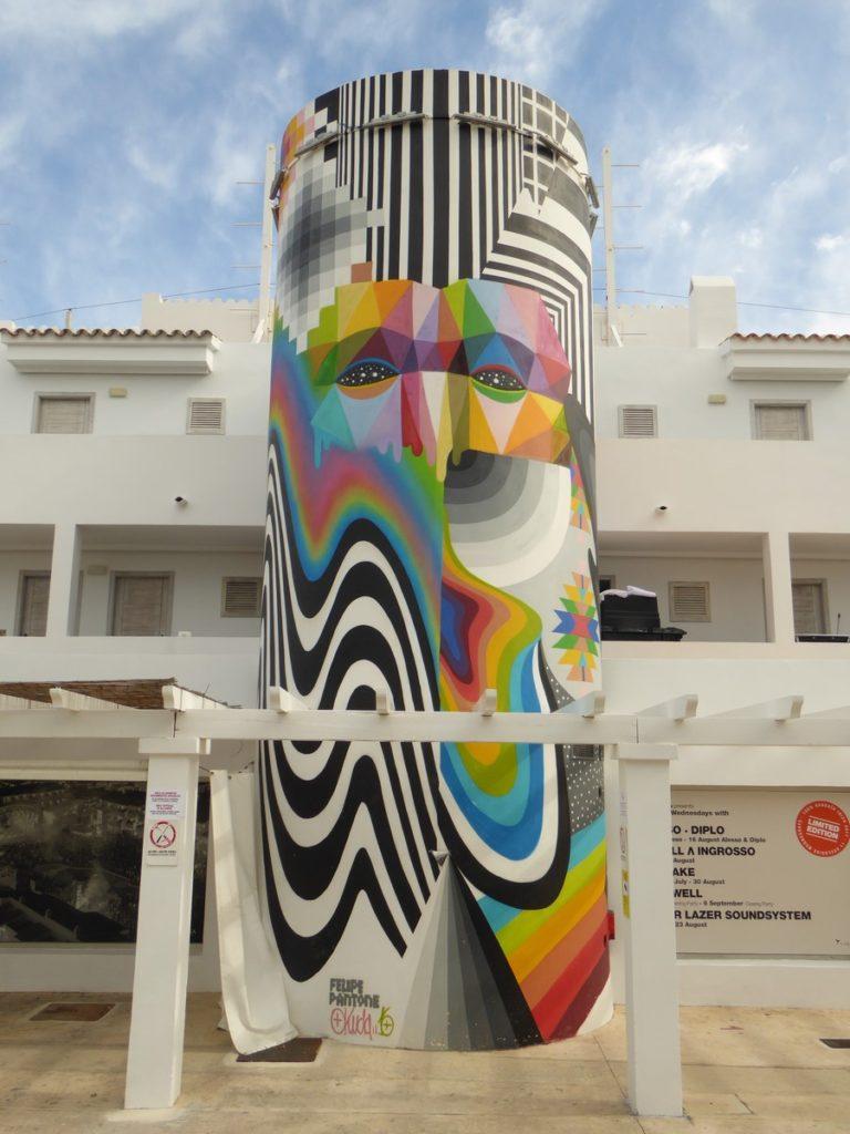 OKUDA + PANTONIO - Sant Jordi - Ibiza - Ctra de Platja d'en Bossa - Ushuaïa Ibiza Beach Hotel