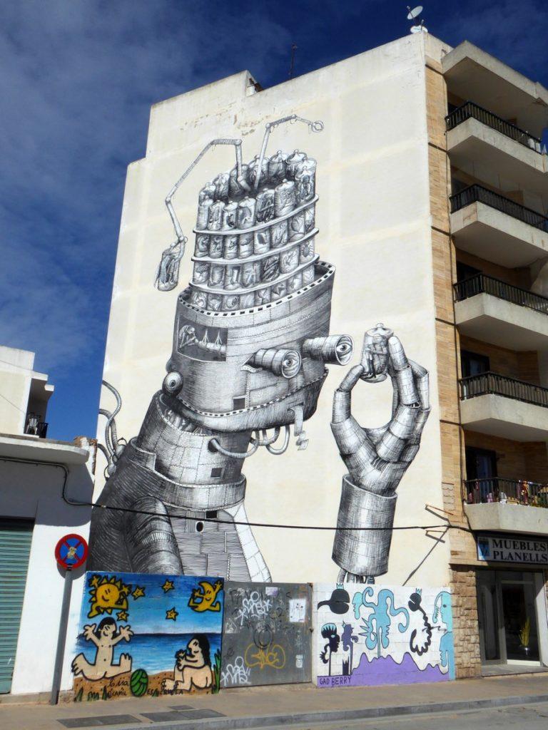 PHLEGM - Sant Antoni de Portmany - Ibiza - Carrer de Ramon y Cajal (Rond point)