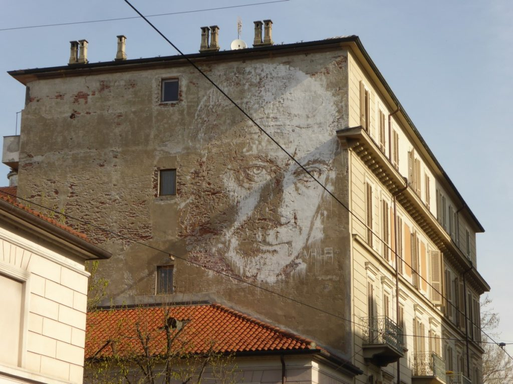 VHILS - Turin - via Nizza 50