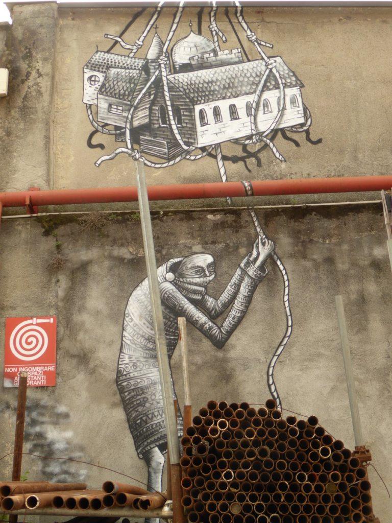 PHLEGM - Turin - via Nicolo Paganini (au bout), Associazione Culturale Variante Bunker