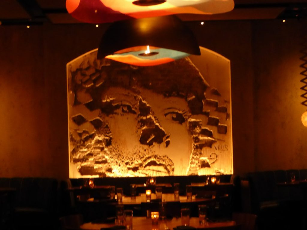 VHILS - New York - Vandal Restaurant 199 Bowery