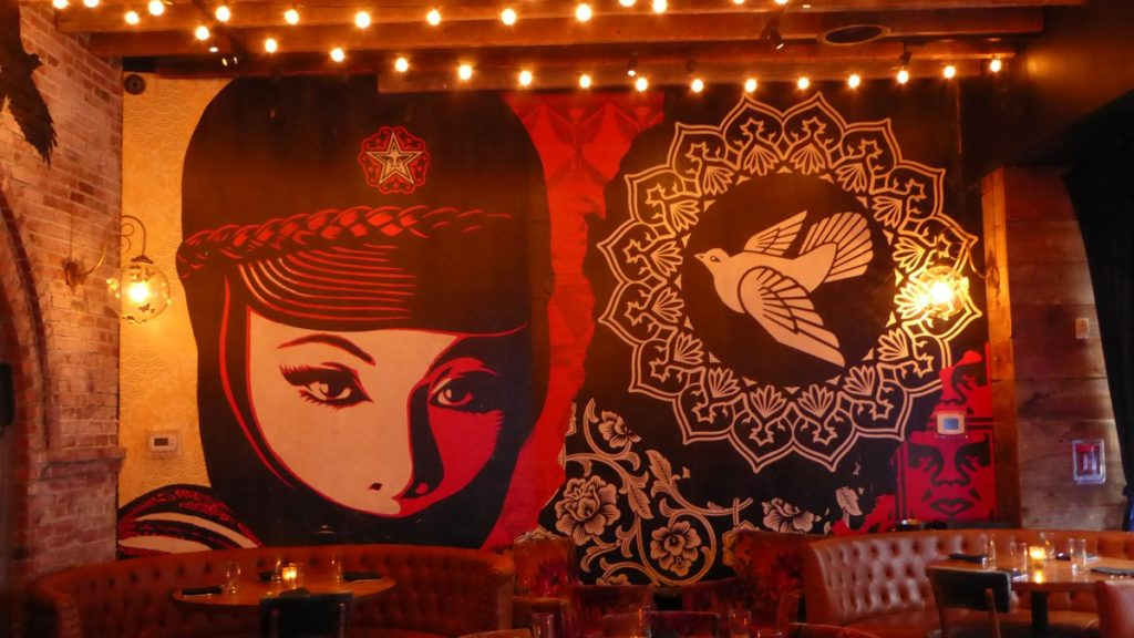 OBEY - New York - Vandal Restaurant 199 Bowery