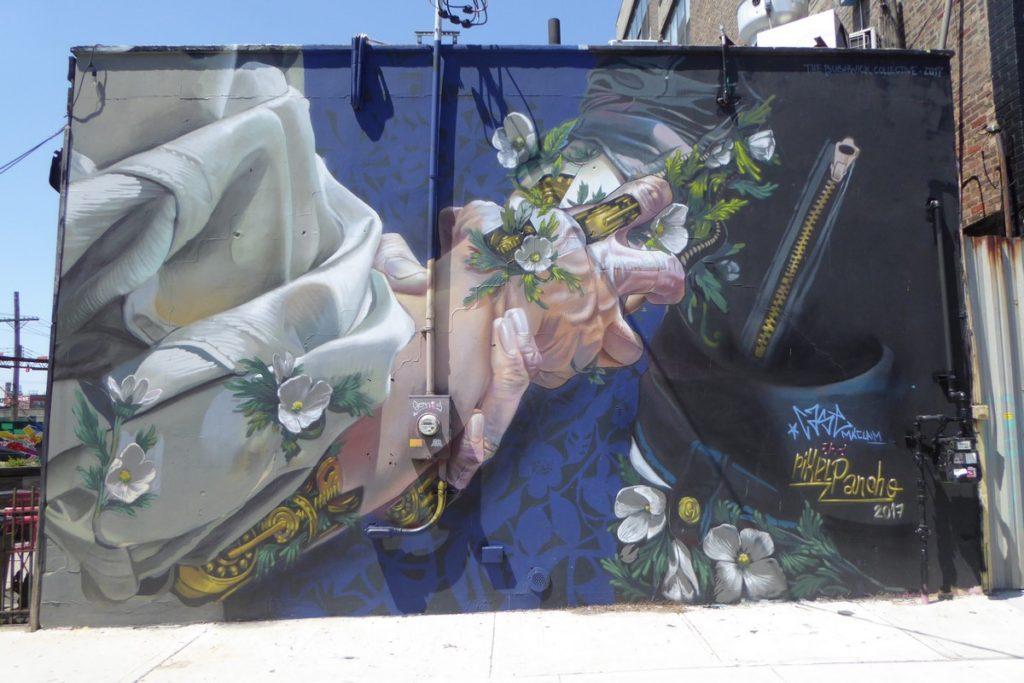 PIXEL PANCHO + CASE MACLAIM - New York - Bushwick - 449 Troutman st