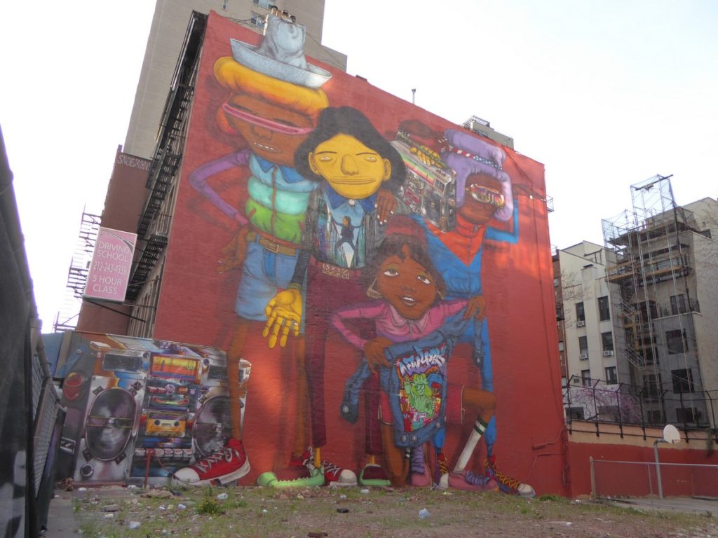 OS GEMEOS - New York - 145 E 14th st