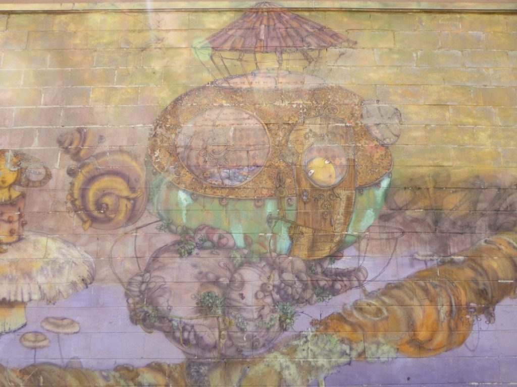 OS GEMEOS – New York Coney Island – Stillwell av & Mermaid av
