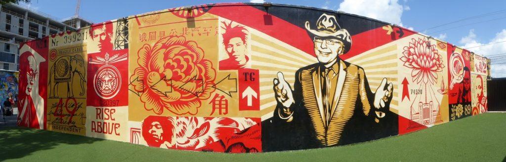 OBEY - Miami - Wynwood Walls – NW 26 st / NW 25 st / NW 2 av