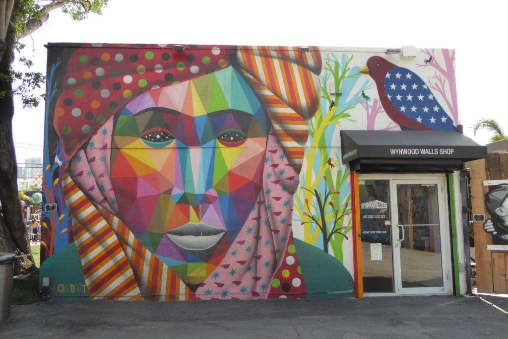 OKUDA - Miami - Wynwood Walls – NW 26 st / NW 25 st / NW 2 av