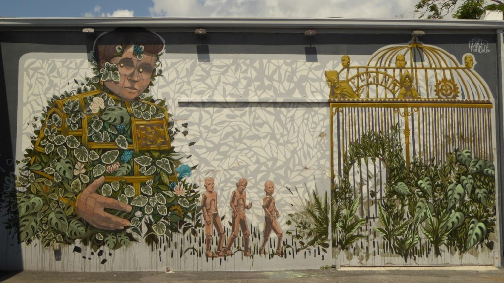 PIXEL PANCHO - Miami - Wynwood Walls – NW 26 st / NW 25 st / NW 2 av