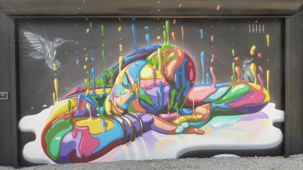 DASIC FERNADEZ - Miami - Wynwood Walls – NW 26 st / NW 25 st / NW 2 av