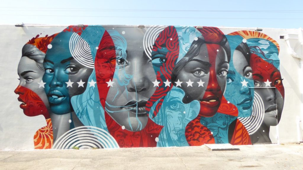TRISTAN EATON - Miami - Wynwood Walls – NW 26 st / NW 25 st / NW 2 av