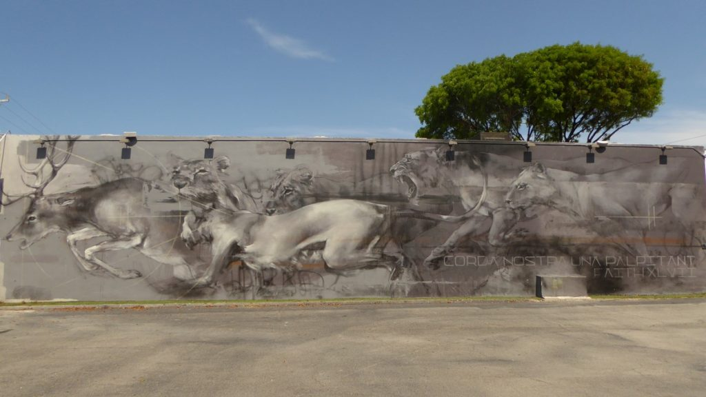 FAITH 47 - Miami - Wynwood Walls – NW 26 st / NW 25 st / NW 2 av